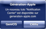 Tutoriel sur le Centre de Notifications d'iOS 5