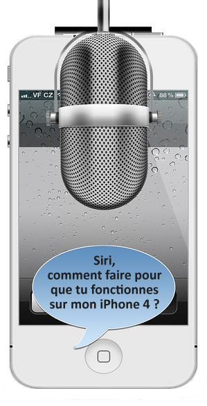 comment installer Siri sur mon iPhone 5