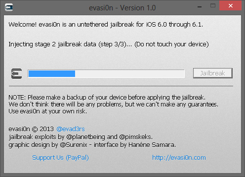 Tutoriel jailbreak iphone 5 iOS 6.1 et 6.01