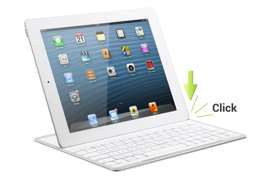 Le clavier Bluetooth d'Archos Design, adaptable pour iPad, sera disponible en mars 2013