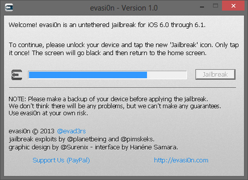 Tuto du jailbreak 6.1 untethered avec iPhone 4S
