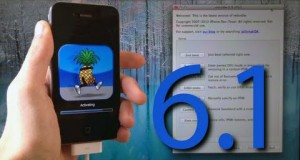 iOS 6.1 Jailbreak Semi-Untethered RedSn0w