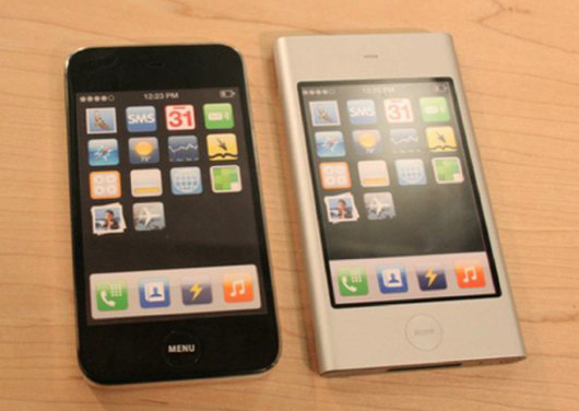 "Paires de mini smartphones, prototypes où Apple a révélé son iPhone ""Light (low cost) contre Samsung @ AppleInsider.com"