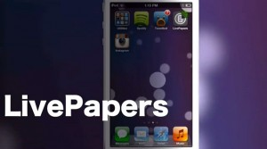 Tweak Cydia LivePapers