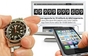 Concours Apple : 50 milliards applications