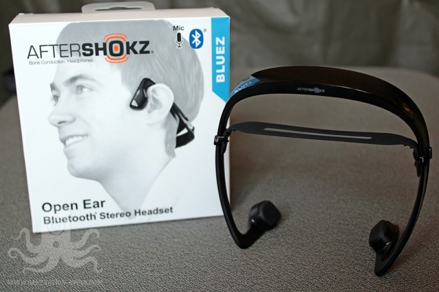AfterShokz Bluez : casque Bluetooth à conduction osseuse sonore