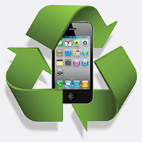 recyclage iphone